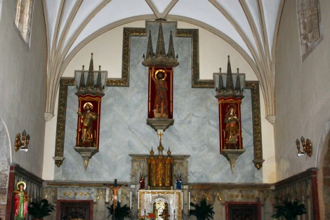 Altar Mayor de la Iglesia San Juan Bautista