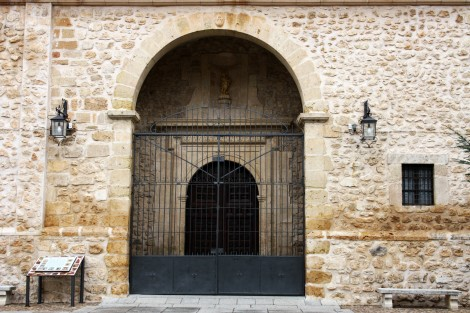 Puerta de la Iglesia San Juan Bautista