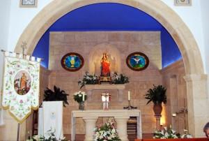 Altar Mayor de la ermita de la Virgen de Palomares