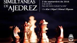 Simultáneas de ajedrez
