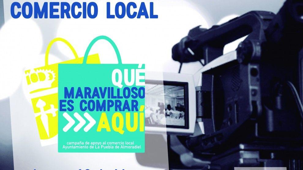Estrono del video promocional del comercio local