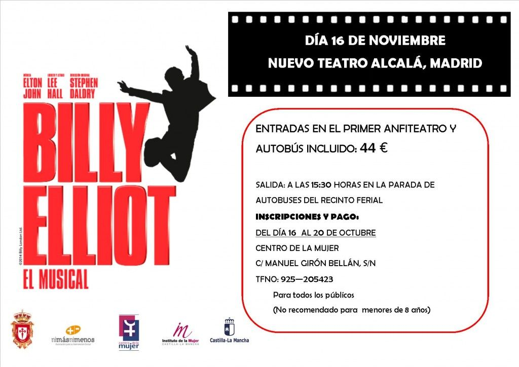 Cartel Billy Eliot el musical