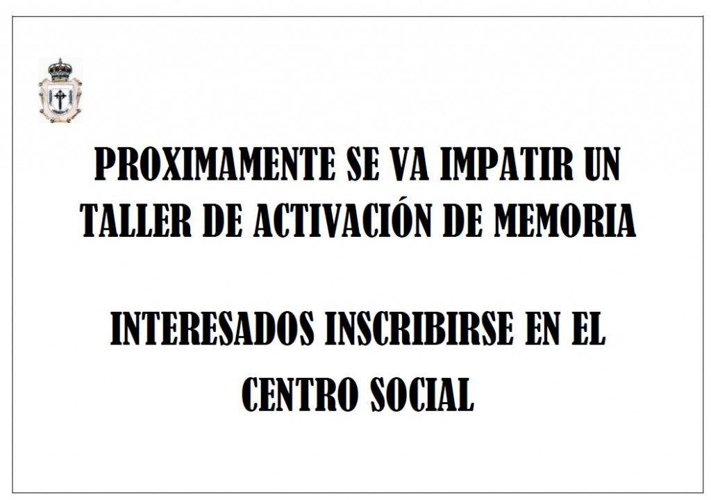 taller activacion de memoria