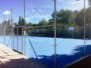 Pistas de padel y pista multideportiva