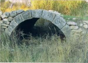 Vista antigua del puente